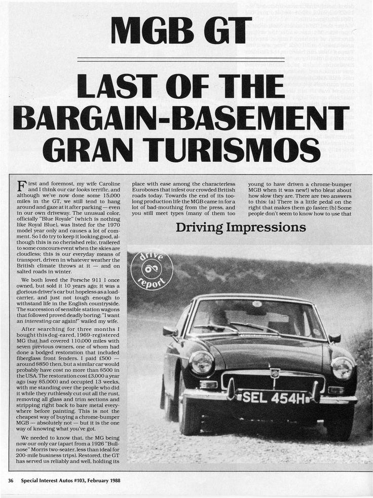 17 best images about mgb gt on pinterest press photo