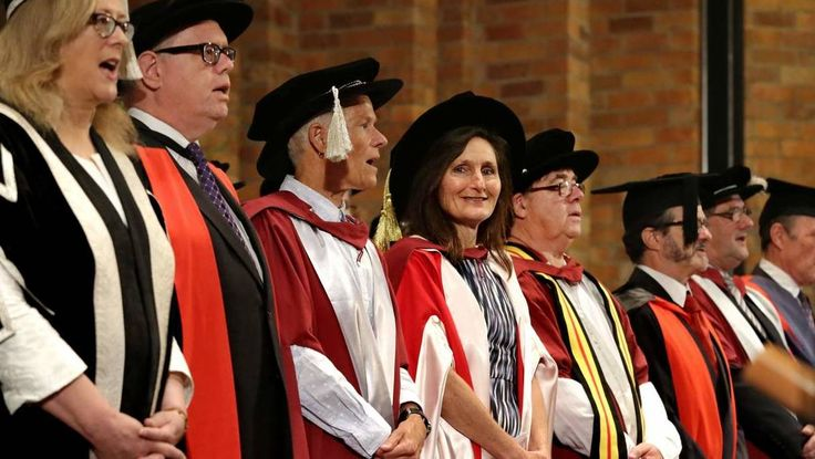 GOLD Walkley Award winning journalist Joanne McCarthy has used her graduation ceremony to voice concerns over The University of Newcastle signing a contract with Transfield Services.
