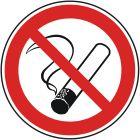 Señales de prohibición: Prohibido fumar