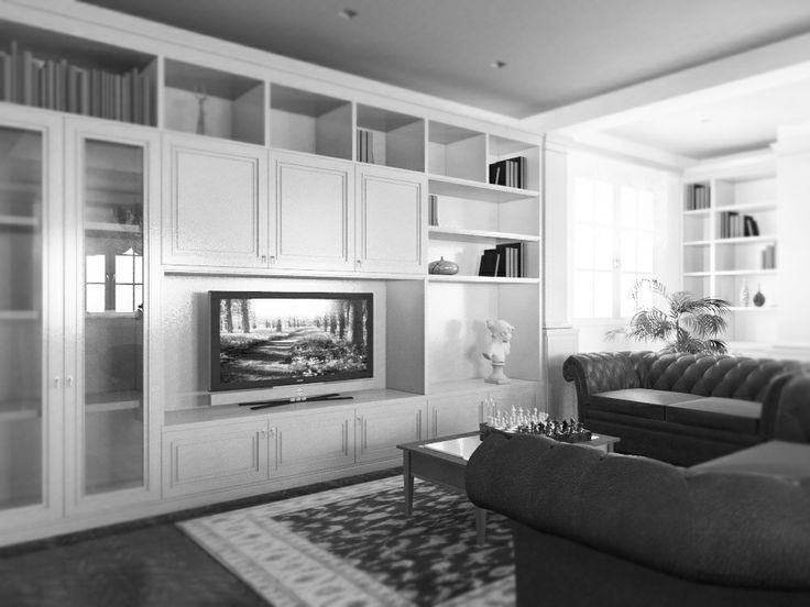 classical living room - Massimo Rinaldo architetto