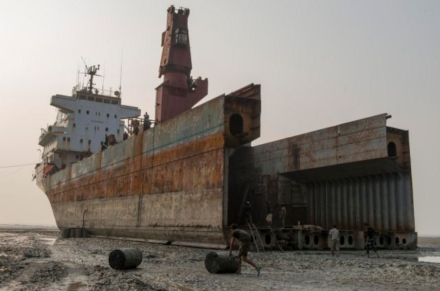 Like all man-made vehicles, ships have a useful lifespan and when that time is up, their internal fittings are gutted and metal recycled as scrap - enter the epic and dangerous world of ship breaking.
