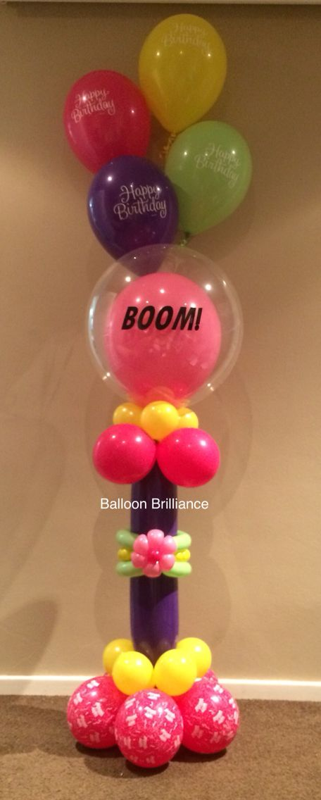 """BOOM!""  For Anna :) #happybirthday #personalisedballoons #balloondelivery…"