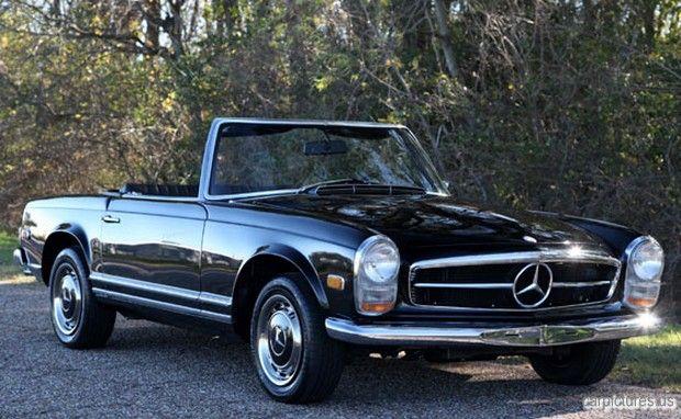 1968 Mercedes-Benz 280SL California Coupe