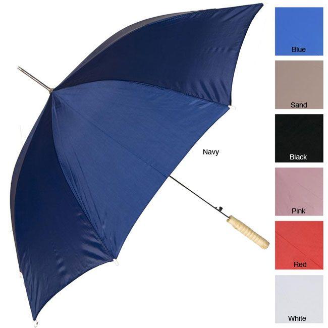 RainWorthy 48-inch Solid Color Automatic Umbrellas