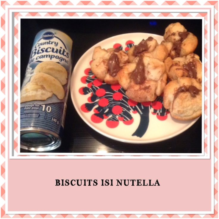 BISCUITS ISI NUTELLA