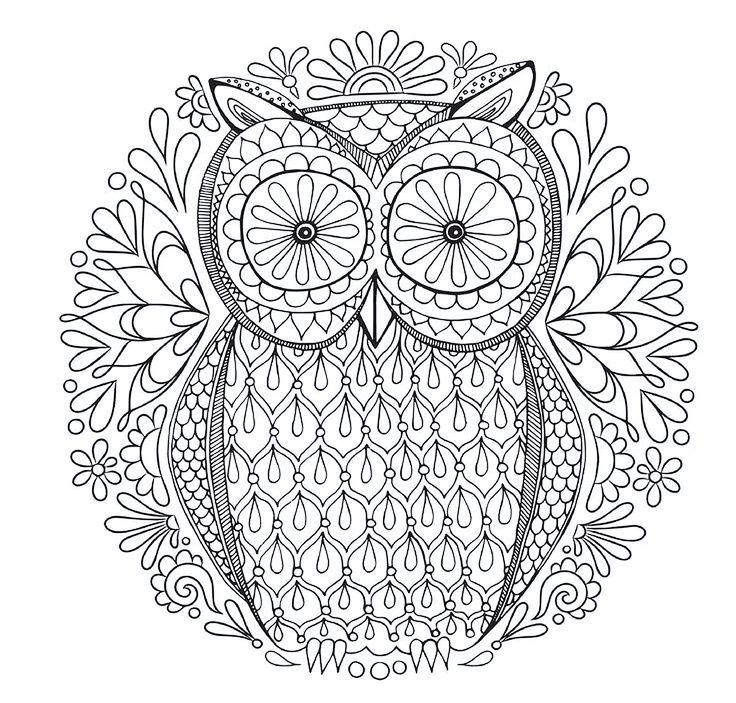 24 best mandalas images on Pinterest | Coloración adulta, Libros ...