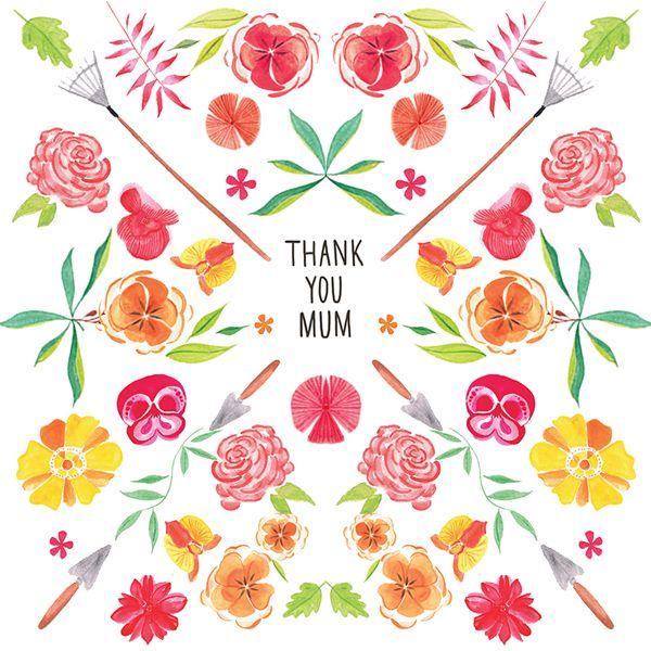 Thank You Mum Card