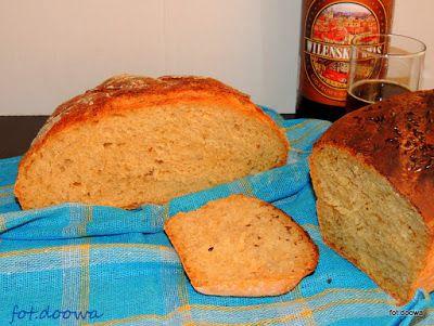 Moje Małe Czarowanie: Chleb pszenny na drożdżach i kwasie chlebowym