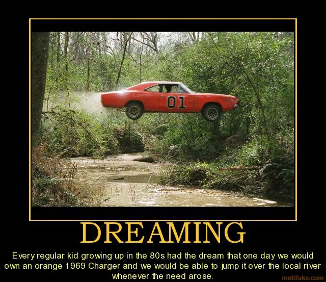ahhh...the Dukes of Hazard car we all wished we had :)