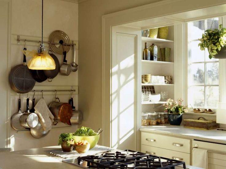 Arredare una cucina piccola e abitabile - Cucina con spazi aperti