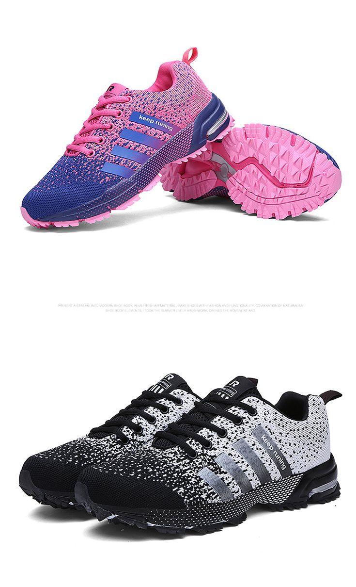 Высокое качество женщин обувают причинную Fly переплетения мода плоские женская обувь мужчины тренеры дышащей свет мягкий мужчины квартиры Women665 купить на AliExpress