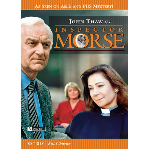 Inspector Morse Set Six Fat Chance DVD he Wolvercote Tongue - A precious jewel is missing and Morse suspects foul play in the death of its owner. Stars Simon Callow and Kenneth Cranham .  Last Seen Wearing - When a privileged schoolgirl goes missing, Morse is convinced she has been murdered, even though there is no body. Stars Elizabeth Hurley and Peter McEnery .  The Settling of the Sun - Morse investigates the murder of a Japanese student in what seems to be a ritual killing. Stars Amanda…
