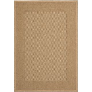 Safavieh Courtyard Natural/ Gold Indoor Outdoor Rug   Overstock.com Shopping - Great Deals on Safavieh 7x9 - 10x14 Rugs