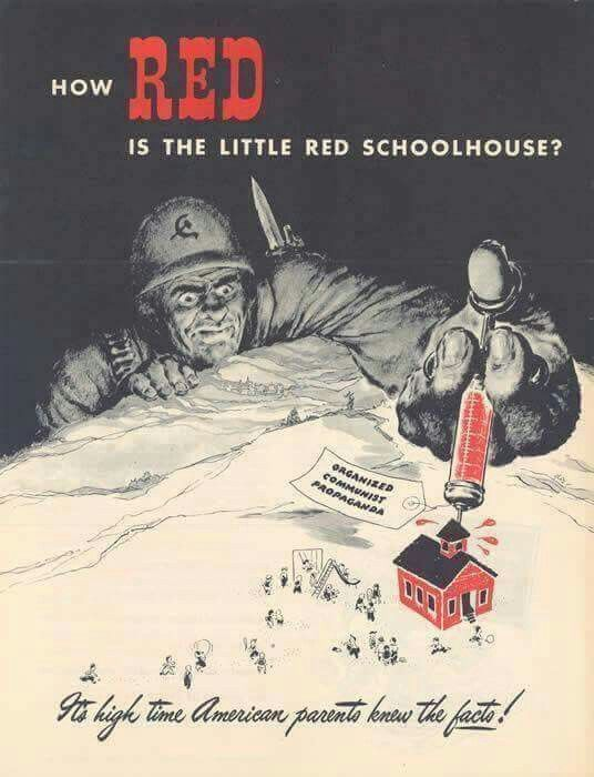 How Red is the Little Red Schoolhouse? USA, 1945