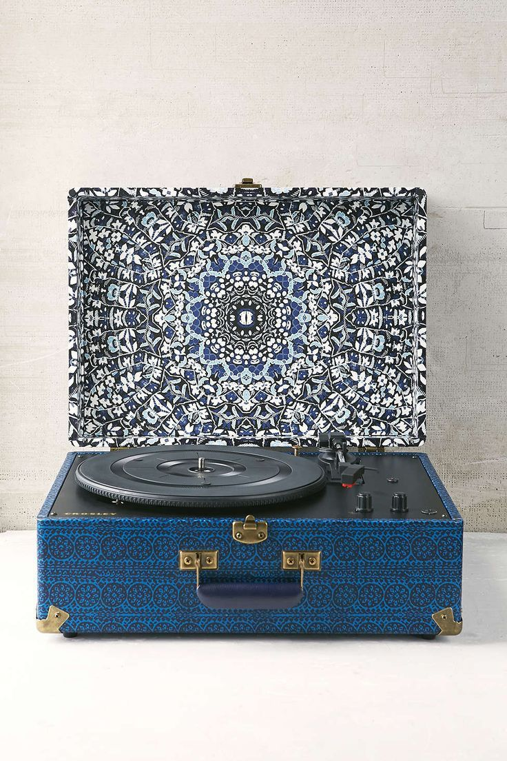 Crosley X UO AV Room Portable USB Vinyl Record Player. This is perfect for me /)0-0(\