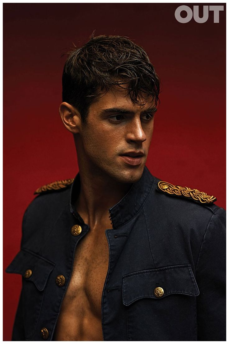 Chad White is Sailor Chic for OUT Photo Shoot