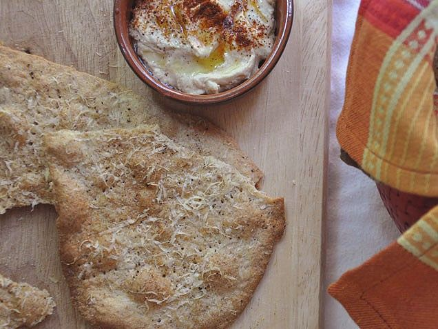 Crackers, Parmesan and Food on Pinterest