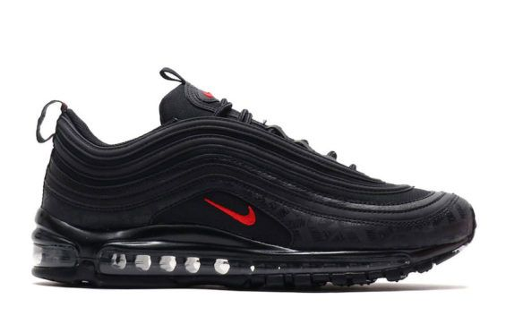 This Nike Air Max 97 Comes With Lots Of Discreet Branding On The Mudguard Kicksonfire Com In 2020 Nike Shoes Air Max Nike Air Max 97 Nike Fashion Sneakers