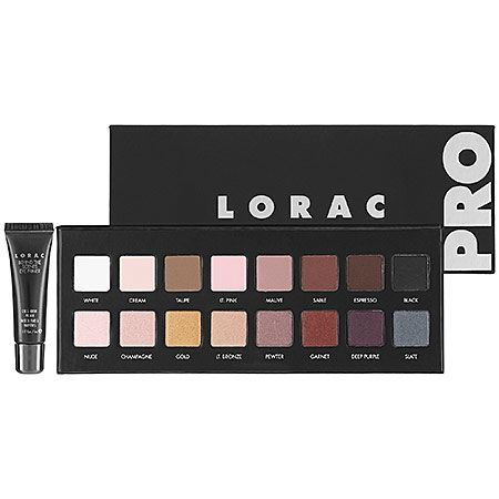 LORAC Pro Palette. They have knocked it out of the park with this one. This has shades that my Urban Decay Naked palette doesn't. This is a must have!! Brand new for fall....