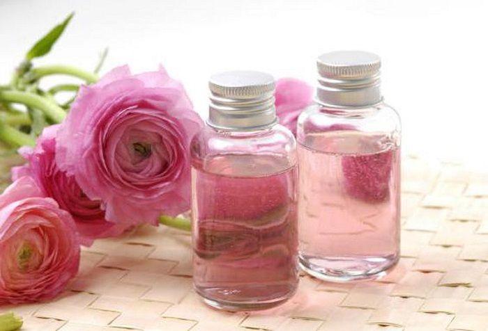 розовая вода применение
