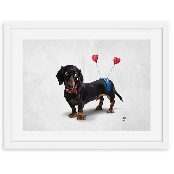 Butt (Wordless) art | decor | wall art | inspiration | animals | home decor | idea | humor | gifts