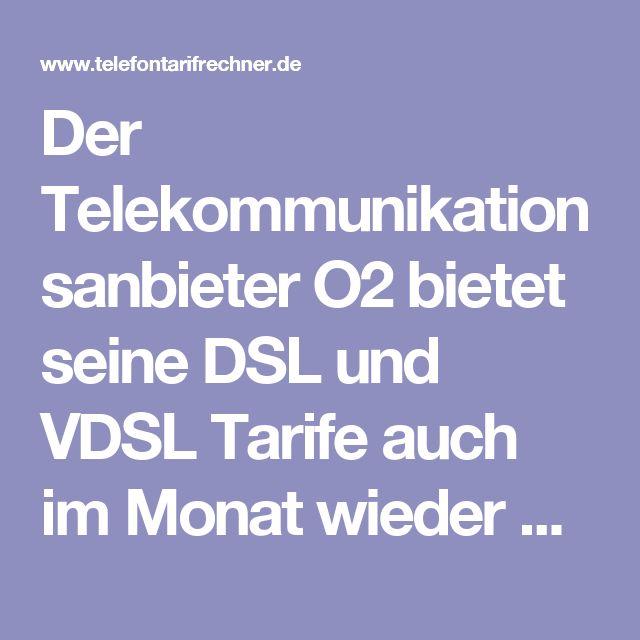 Der Telekommunikationsanbieter O2 bietet seine DSL und VDSL Tarife auch im Monat wieder mit reichlich Rabatt und Startguthaben an. So bekommen unsere Leser weiterhin die O2 VDSL Tarife im Rahmen einer Sonderaktion mit einem Willkommensbonus von bis zu 150 Euro. Zusätzlich gibt es weitere Vergünstigungen bei den O2 VDSL Tarifen. So ist dann immer in den ersten 3 Monaten die Grundgebühr drastisch gesenkt auf mtl. 14,99 Euro. Auch gibt es die Upload Geschwindigkeit nun bis zu 40 Mbit/s statt…