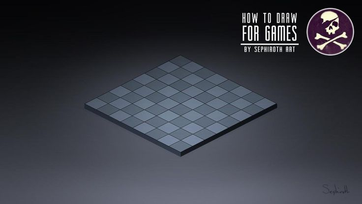 How to Draw For Games #4 | Isometric Field