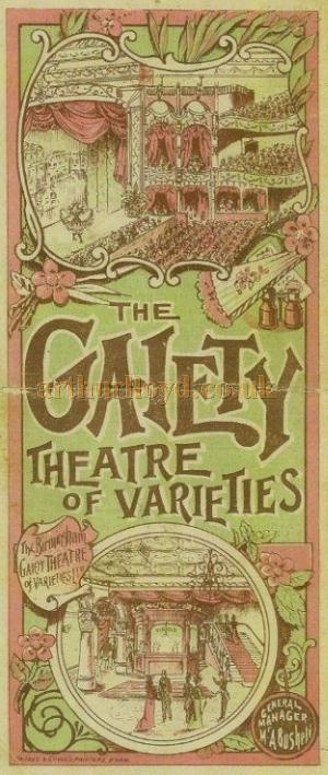 1881 Theatre Programme Theatre Royal Hull The Colonel Collectable Ephemera am3