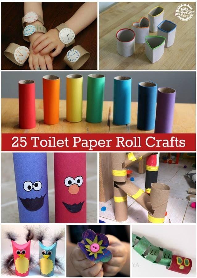 rolky z toalet papiera