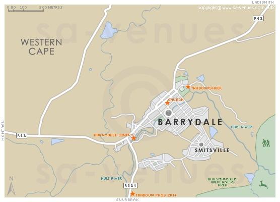 BARRYDALE Map