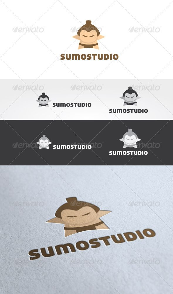 Sumo Studio Logo Template — Photoshop PSD #toga #brand • Available here → https://graphicriver.net/item/sumo-studio-logo-template/2891095?ref=pxcr