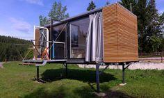 small house on stilts