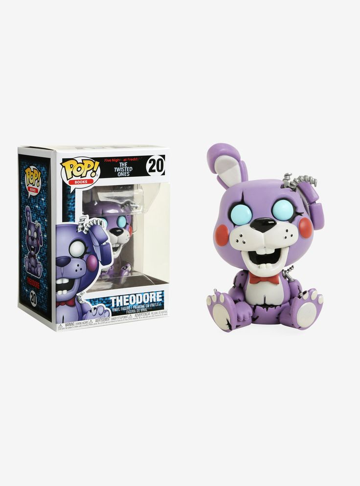 Funko five nights at freddys the twisted ones pop books