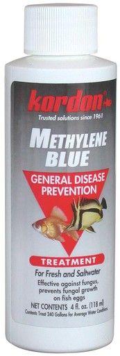 Kordon Methylene Blue General Disease Prevention Treatment Fresh Saltwater 4oz