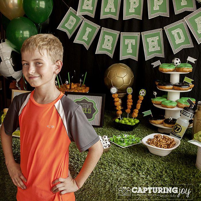 Soccer Party on a Golden Birthday - Capturing Joy with Kristen Duke