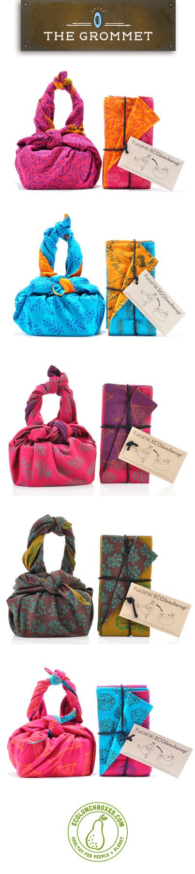 We'e on @The Grommet ! Check out our Furoshiki ECOlunchwraps now available on their site! http://www.thegrommet.com/furoshiki-lunch-wraps-by-eco-lunchbox