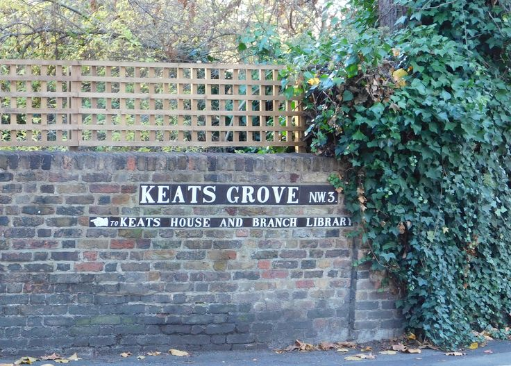 Street sign, Hampstead