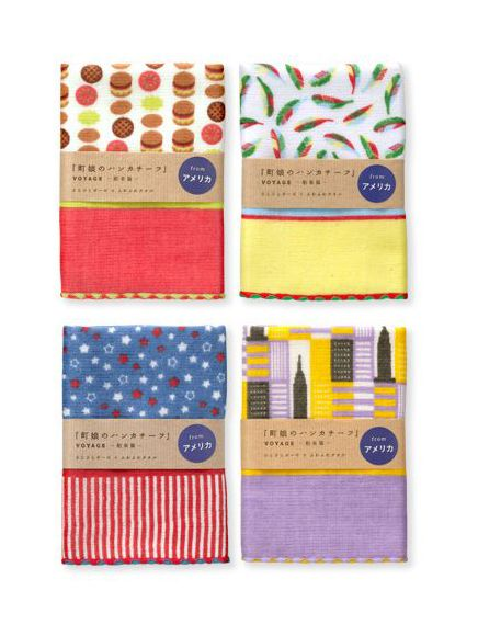machimusume no handkerchief / voyage / America / FROM GRAPHIC