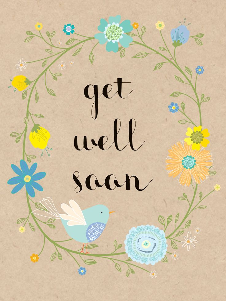 Get Well Soon (W462) Get Well Luxury Card by Hillberry. Card features raised textures  http://www.thewhistlefish.com/product/w462-get-well-soon-luxury-card-by-hillberry