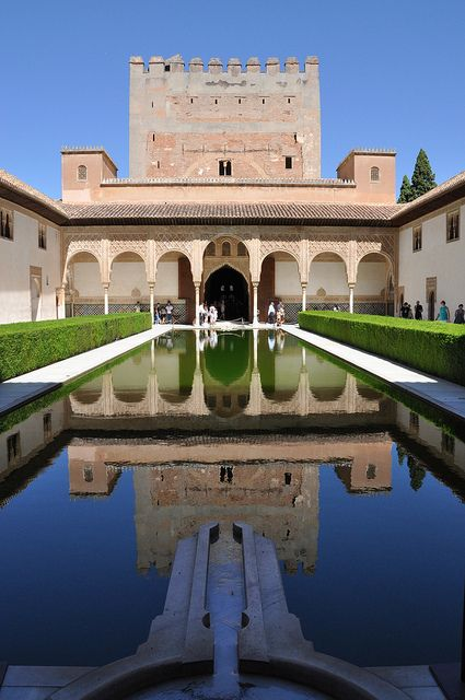 Alhambra   Granada  Spain- one of the most interesting places I've been.