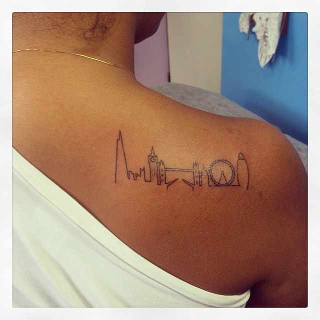 london skyline tattoo - Google Search