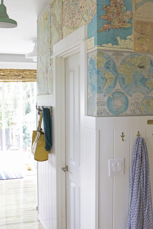 Easy DIY Art Wallpaper For Your Home