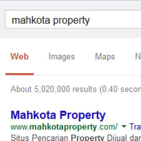 Mahkota Property