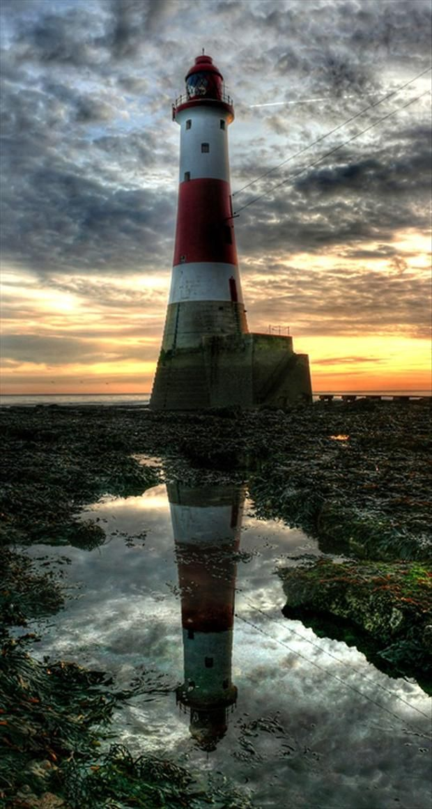 Eastbourne Lighthouse, England - Dump A Day