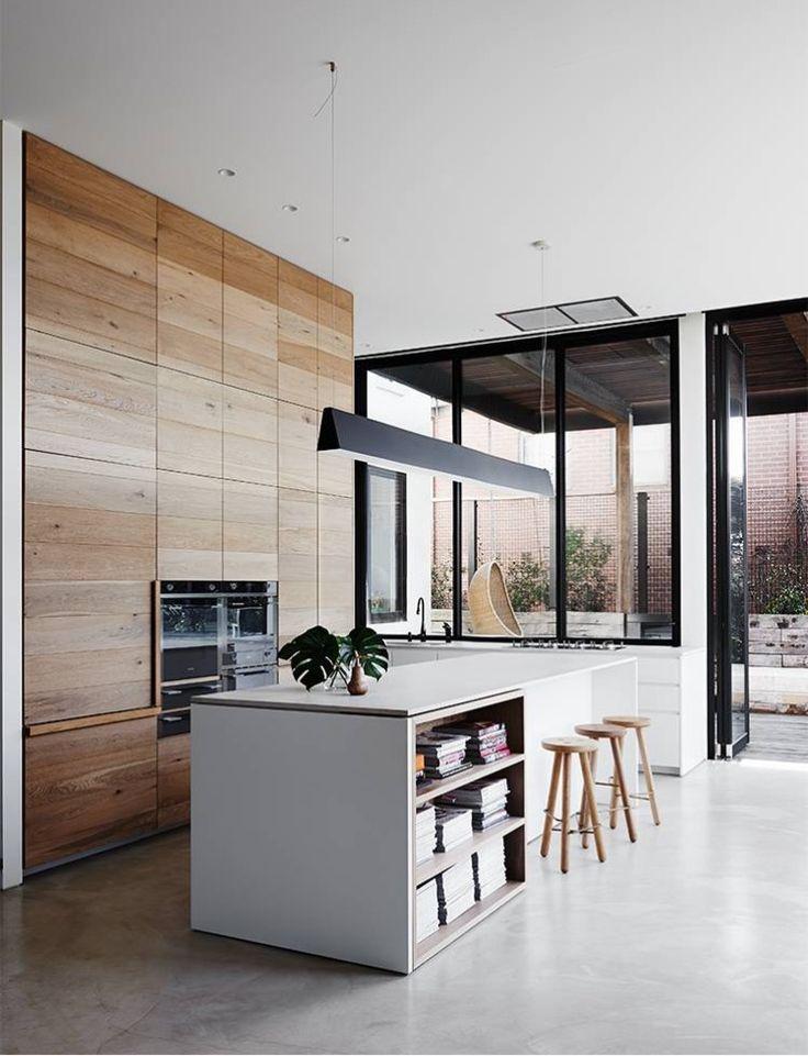 48 best Kitchen images on Pinterest Kitchen modern, Gourmet - maison en beton banche