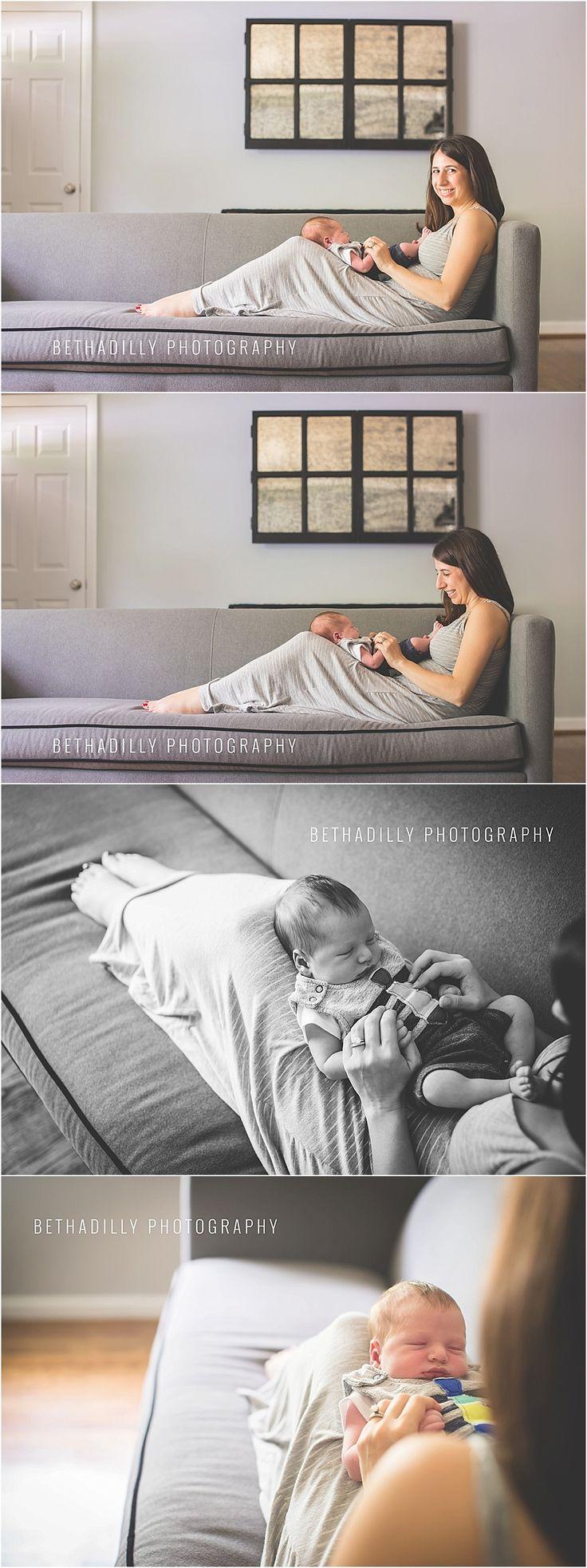 lifestyle newborn session posing | northern virginia lifestyle newborn photographer | bethadilly photography