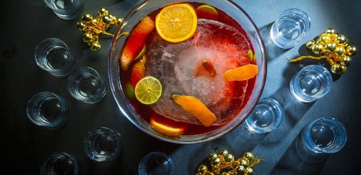 Jungle Bird Punch New Years Eve Drink Tasting Table Test Kitchen