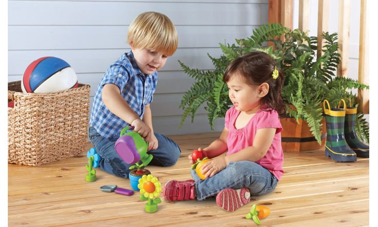 Imaginative garden role play for little ones with this chunky nine piece set. Available at www.wickeduncle.co.uk/childrens-presents/grow-it---new-sprouts.