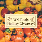 Gift Box with Sriracha Sauce Giveaway  Open to: United States Ending on: 12/17/2017 Enter for a chance to win a gift box (one winner) or two bottles of our delicious sauces (two winners). Inside the gift box is a bottle of our Bacon Sriracha Sauce plus two sets of bowls and WN Foods chopsticks. Enter this Giveaway at WN Foods  Enter the Gift Box with Sriracha Sauce Giveaway on Giveaway Promote.