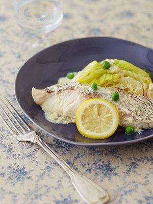 【ELLE a table】鯛とキャベツの豆乳レモンクリーム煮レシピ エル・オンライン